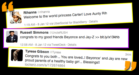 welcome to the world blue ivy carter fashion gossip