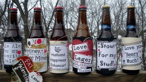 homemade beer labels
